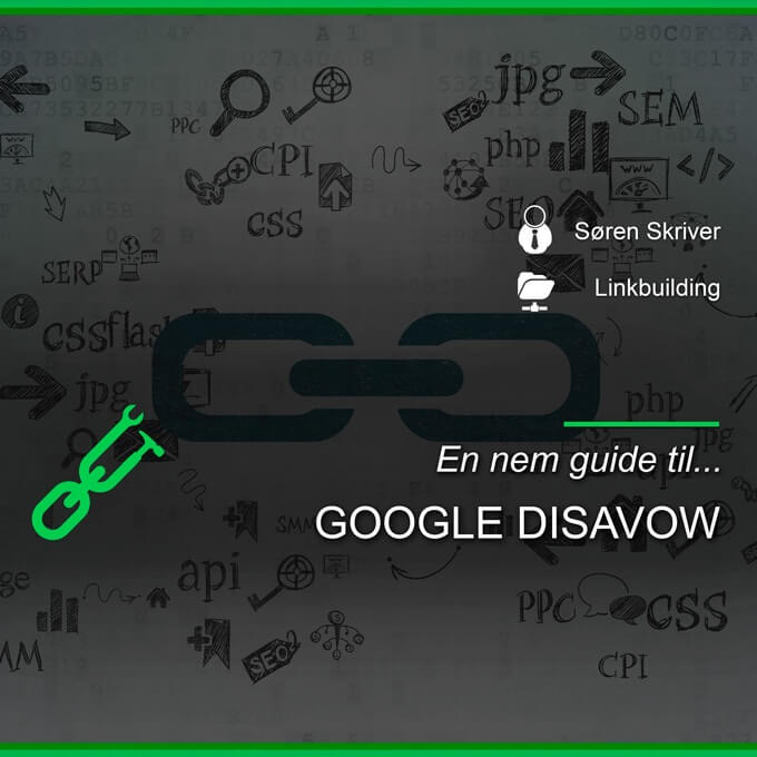 Google disavow guide
